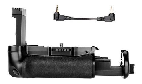 battery grip p/ canon t7i 800d 77d kiss x9i bg-1x lp-el17