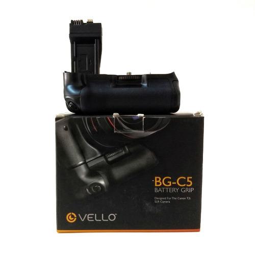 battery grip vello bg-c5 para canon t5i