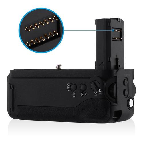 battery grip vg-c2em p/sony a7ii/a7m2/a7r- fact a/b-garantia
