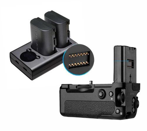 battery grip vg-c3em para sony alpha a9, a7 iii e a7r iii