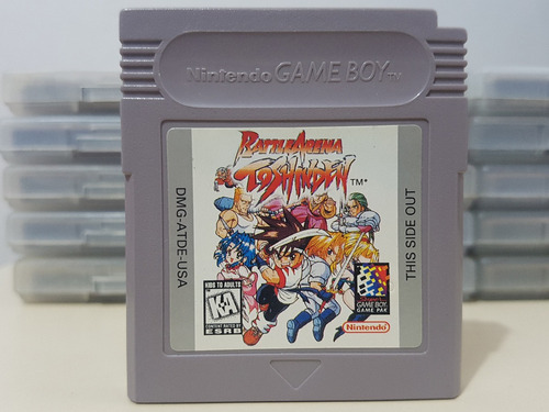 battle arena toshinden nintendo game boy