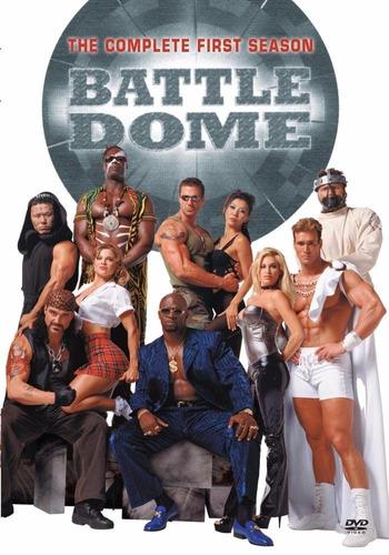battle dome temporada 1 uno serie tv en dvd