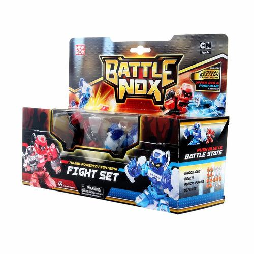 battle nox 2 robôs set duplo brinquedo - gigantes de aço