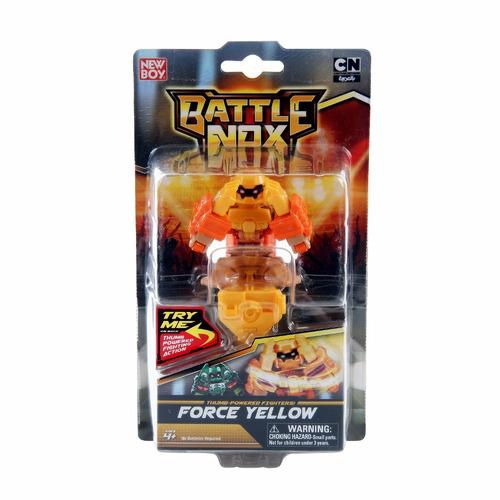 battle nox robô amarelo brinquedo - gigantes de aço