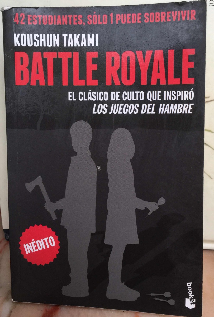 Battle Royale Koushun Takami (los Juegos Del Hambre) Pocket - $ 280,00