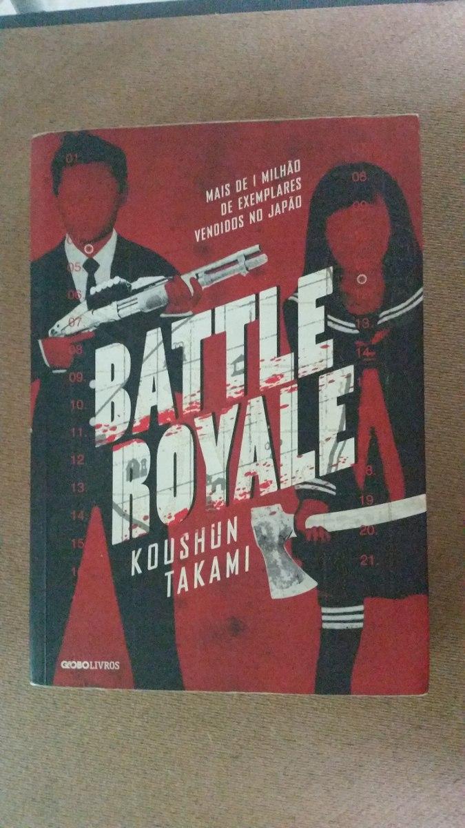 Battle Royale Livro Koushun Takami Japan - Seminovo!