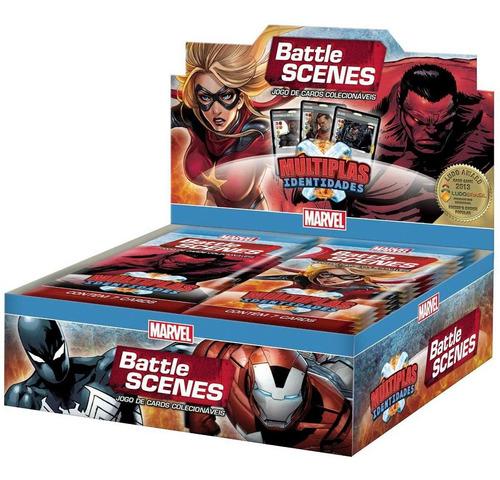 battle scenes - múltiplas identidades - caixa de booster- pt