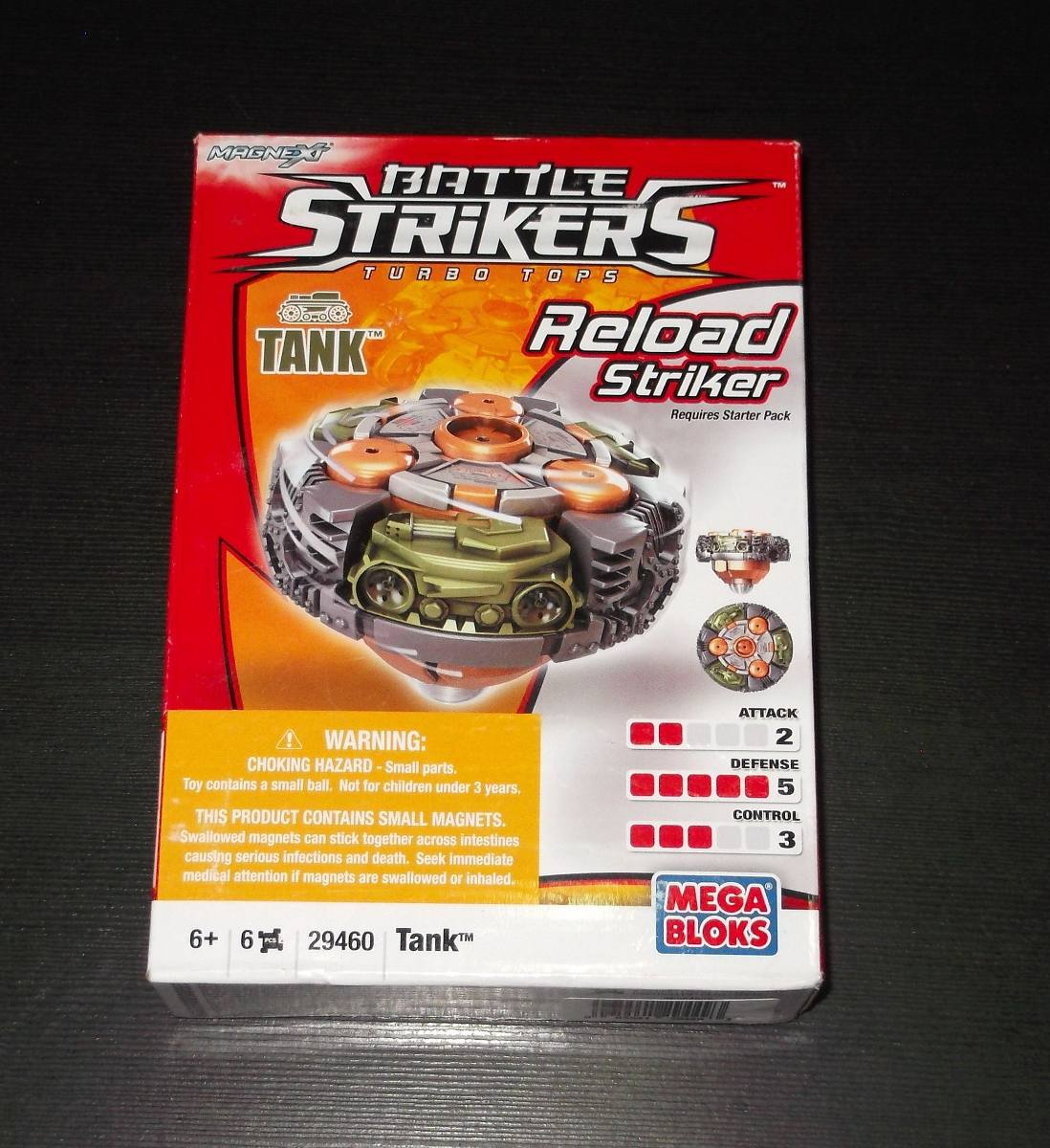 Battle Strikers Reload Striker Tank Top 29460 Magnext - ToyWiz   Tank Battle Strikers