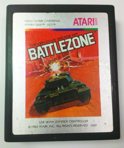 battle zone atari 2600 cartucho retromex tcvg