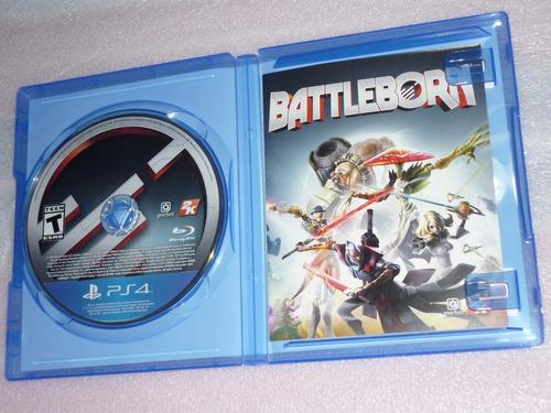 battleborn ps4 original usado excelente disponible!