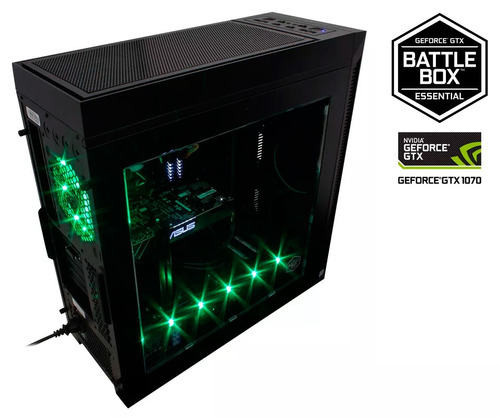 battlebox nvidia geforce gtx 1070 8gb core i7 8700 16gb 1tb