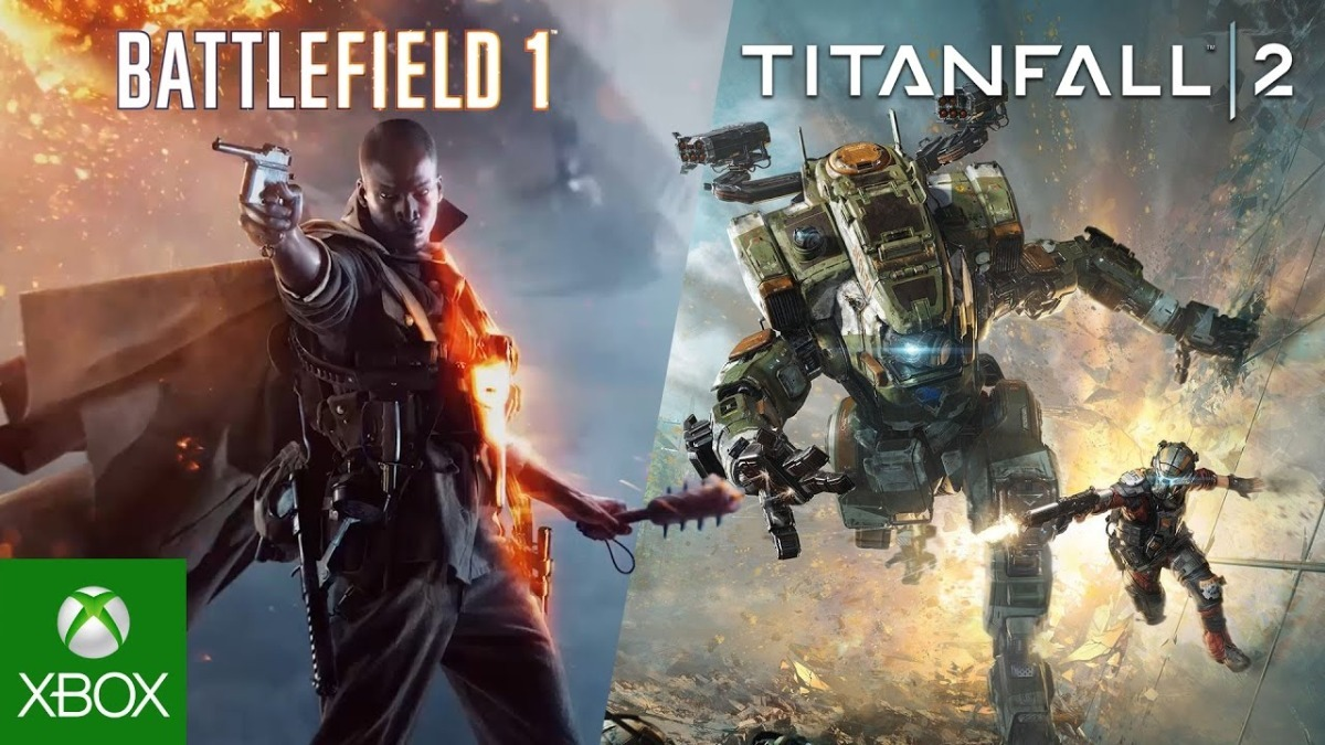 Resultado de imagem para Battlefield 1 + Titanfall 2