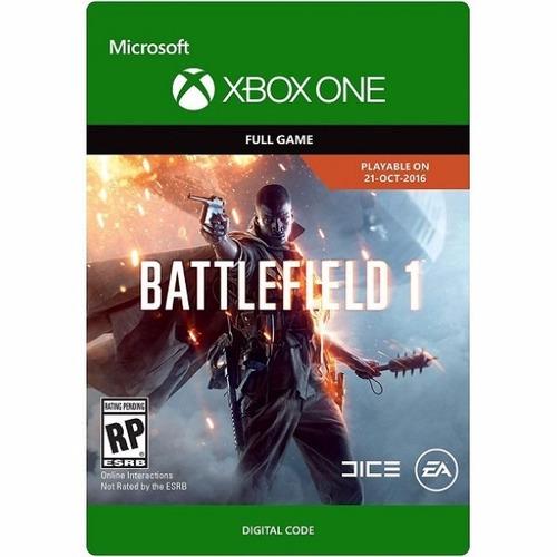 battlefield 1 edición estándar: código descagable