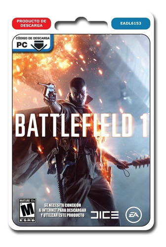 battlefield 1 pc juego pc original origin entrego ya