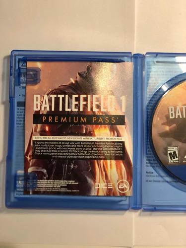 battlefield 1 ps4 fisico original