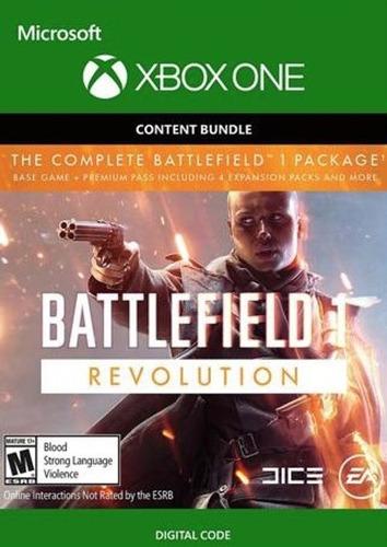 battlefield 1 revolution xbox one codigo digital
