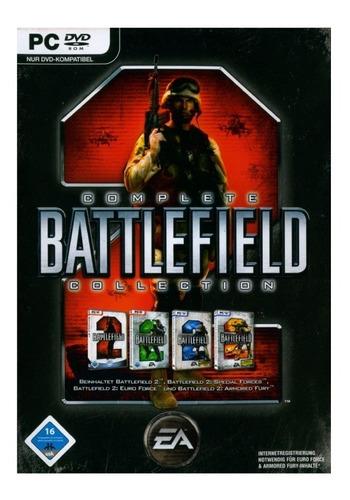 battlefield 2 complete collection juego pc original fisico