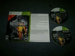 battlefield 3 limited edition completo para xbox 360,checalo