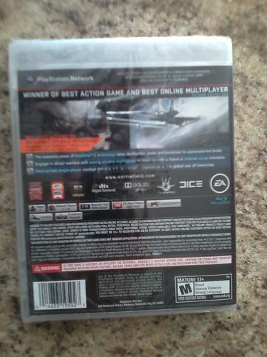 battlefield 3 limited edition ps3 nuevo