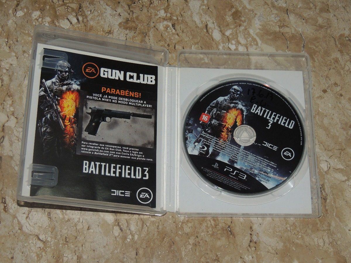 Battlefield 3 - Playstation 3 Ps3 Original Mídia Física