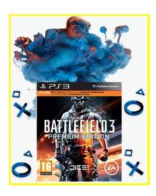 Battlefield 3 Premium Edition Jogo + Dlcs Playstation 3 Psn