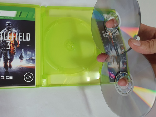 battlefield 3 - xbox 360 x2 discos