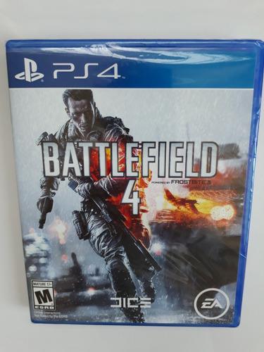 battlefield 4 juego ps4 nuevo y sellado
