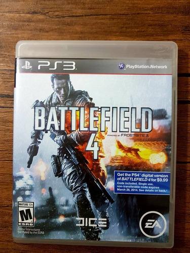 battlefield 4 playstation 3 ps3 excelente estado español