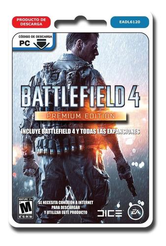 battlefield 4 premium edition juego pc original completo