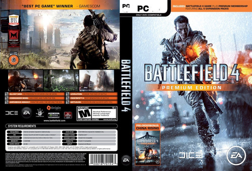 battlefield 4 premium edition pc - origin -entrega inmediata