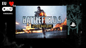 Battlefield 4 Premium Jogo Mais As Dlc`s Playstation 3 Psn