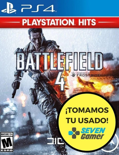 battlefield 4 ps4 juego fisico sellado nuevo sevengamer
