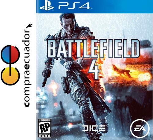battlefield 4 ps4 playstation 4 juego original sellado