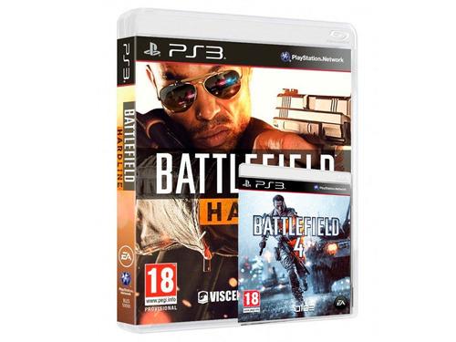 battlefield 4 y hardline ps3