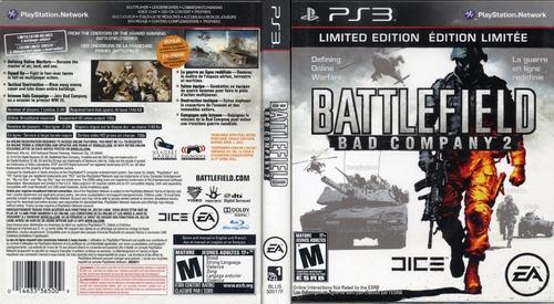 battlefield - bad company 2 | ps3 / playstation 3 m. fisica