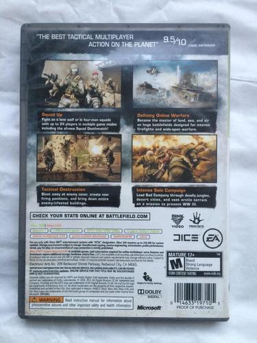 battlefield bad company 2 xbox 360 envíos todo chile
