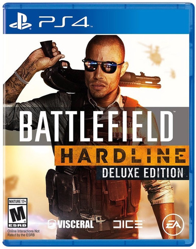 battlefield hardline deluxe  ps4 playstation 4 stock fijo