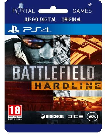 battlefield hardline digital ps4 tenelo hoy + 15 %off