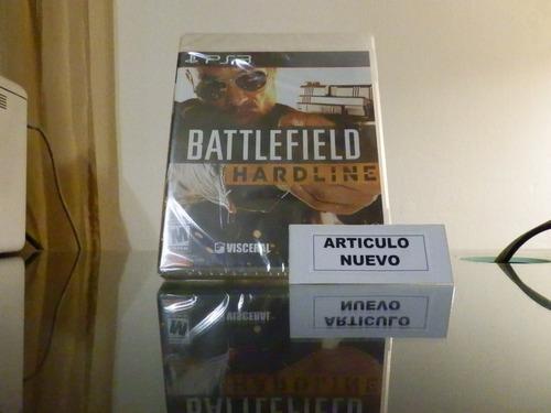 battlefield hardline - fisico - ps3