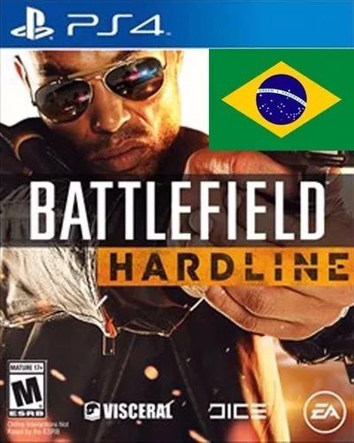 battlefield hardline portugues ps4 psn - midia digital 1°