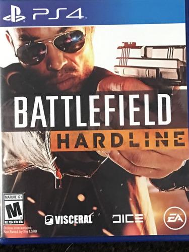 battlefield hardline ps4 disco fisico solo venta