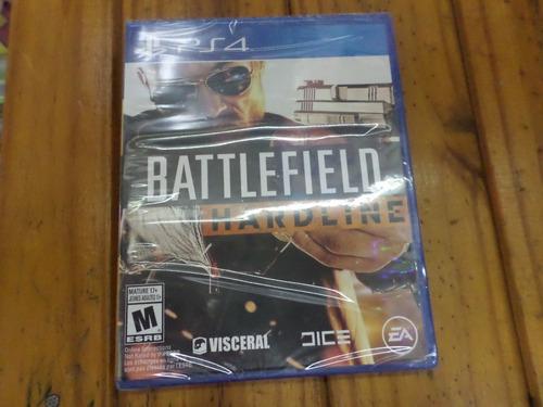 battlefield hardline ps4 original fisico sellado
