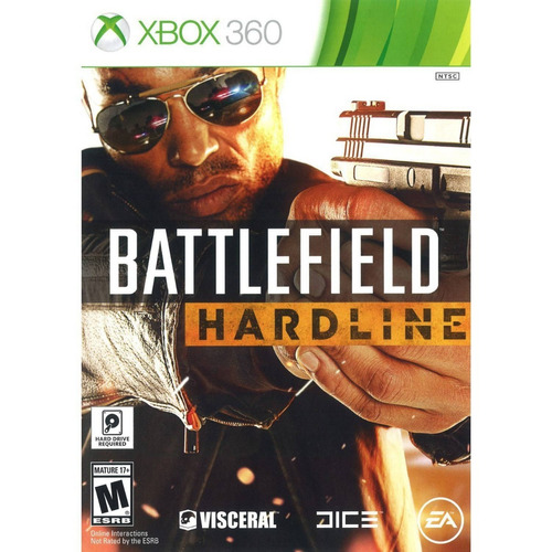 battlefield hardline - xbox 360 - usado