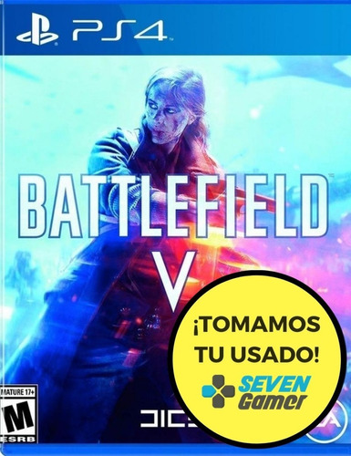 battlefield v 5 ps4 fisico sellado nuevo original sevengamer