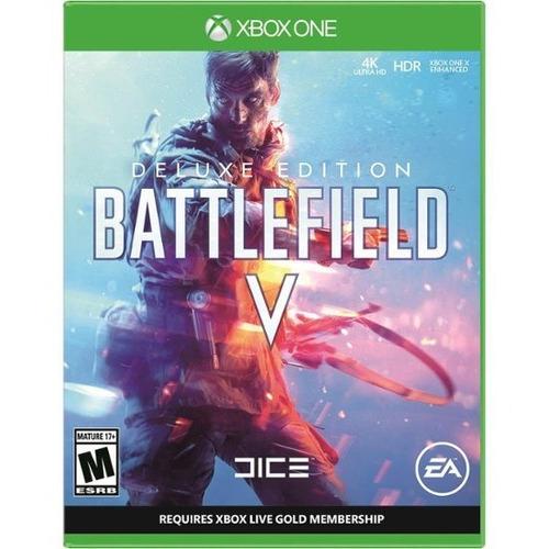 battlefield v  deluxe xbox one nuevo original físico