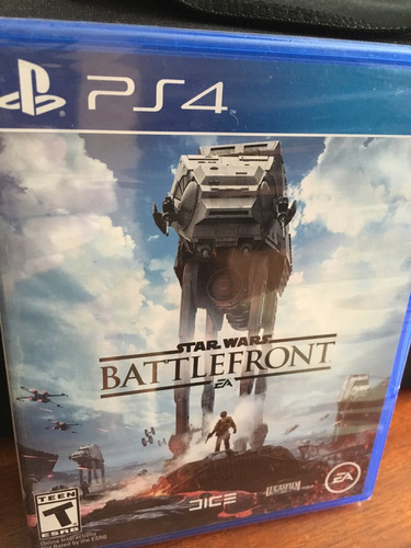 battlefront starwars nuevo sellado para ps4