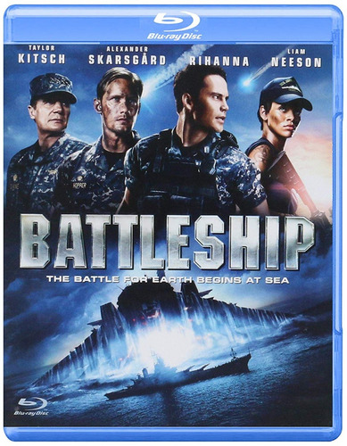 battleship batalla naval rihanna liam pelicula blu-ray
