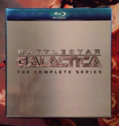 battlestar galactica la serie completa tv boxset blu-ray