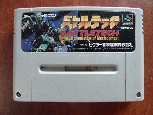 battletech super famicom zonagamz japon