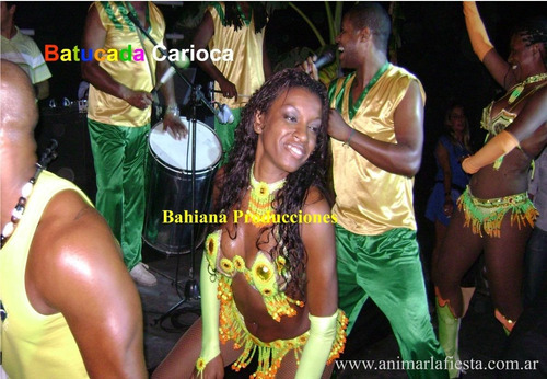batucada mulata - show afro brasilero de samba y axé